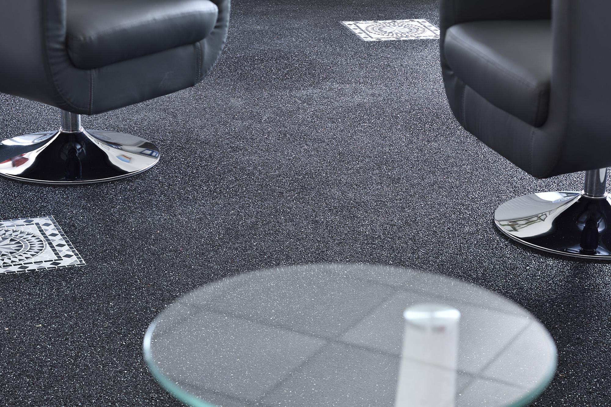 steinteppich im innenbereich verlegen lassen bad keller. Black Bedroom Furniture Sets. Home Design Ideas